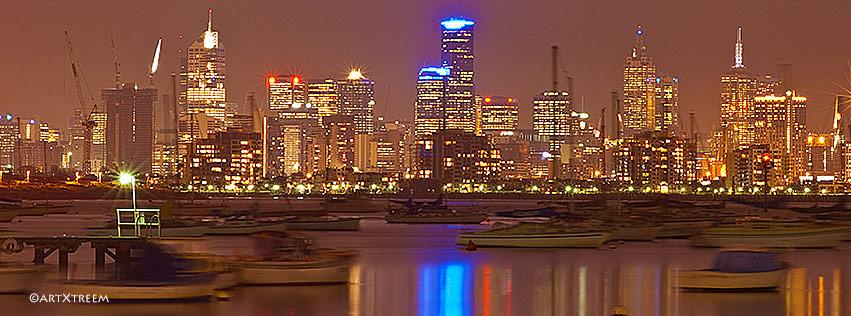 c0025-Melbourne At Night