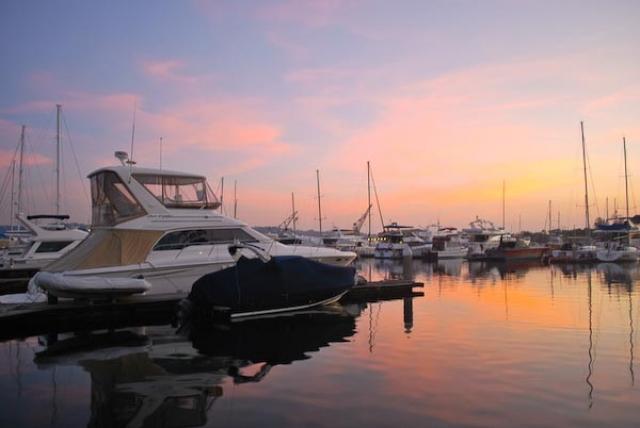 o0010-Subic Yacht Club Sunset